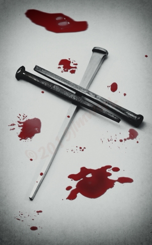 blood cross nails copy